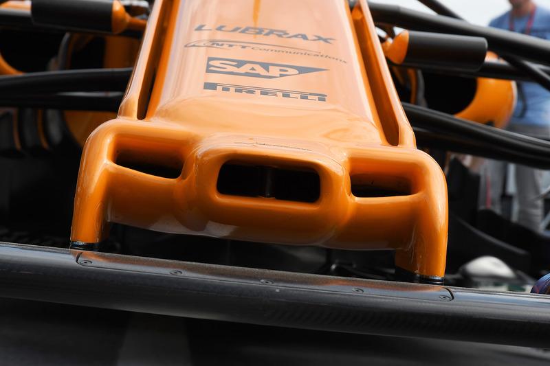 McLaren MCL33 neus