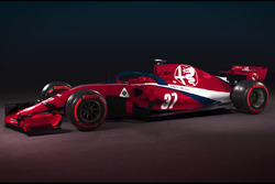 Концепт ливреи Alfa Romeo Sauber