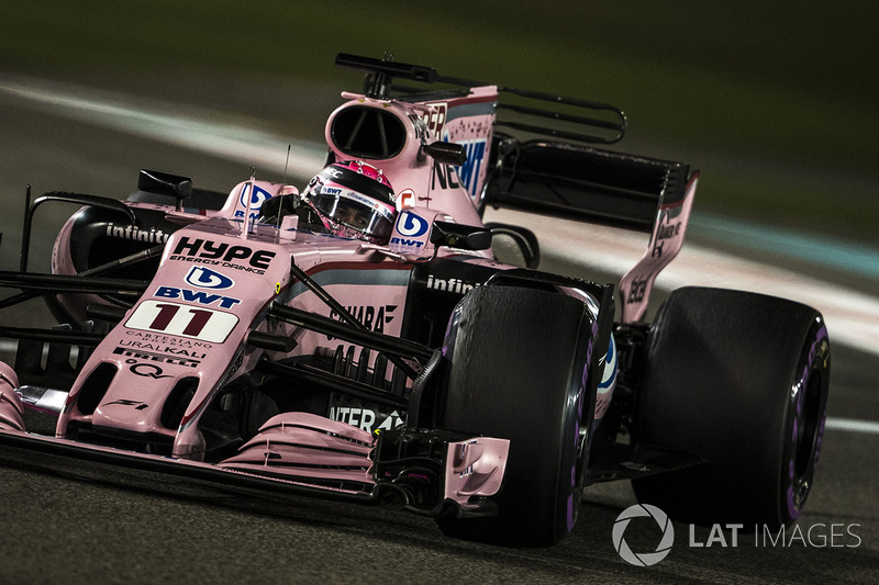 7. Sergio Perez, Sahara Force India VJM10