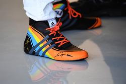 The boots of Fernando Alonso, McLaren