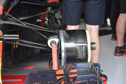 Red Bull Racing RB14 front brake detail