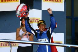 Race winner Galang Hendra, Yamaha