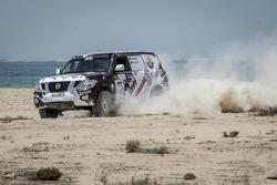 عادل العبدالله، رالي قطر الصحراوي