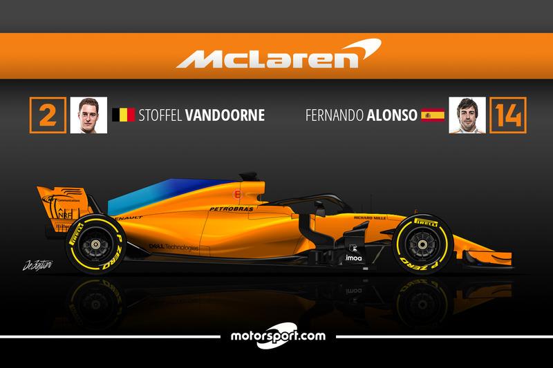 Stoffel Vandoorne 0 Fernando Alonso 17