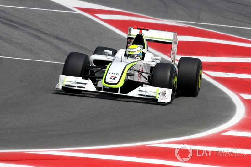 2009 - Jenson Button, Brawn GP-Mercedes