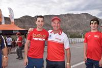 Vincenzo Nibali con Giovanni Sala, Team Manager GasGas