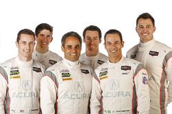 Helio Castroneves, Ricky Taylor, Graham Rahal, Dane Cameron, Juan Pablo Montoya, Simon Pagenaud, Acura Team Penske