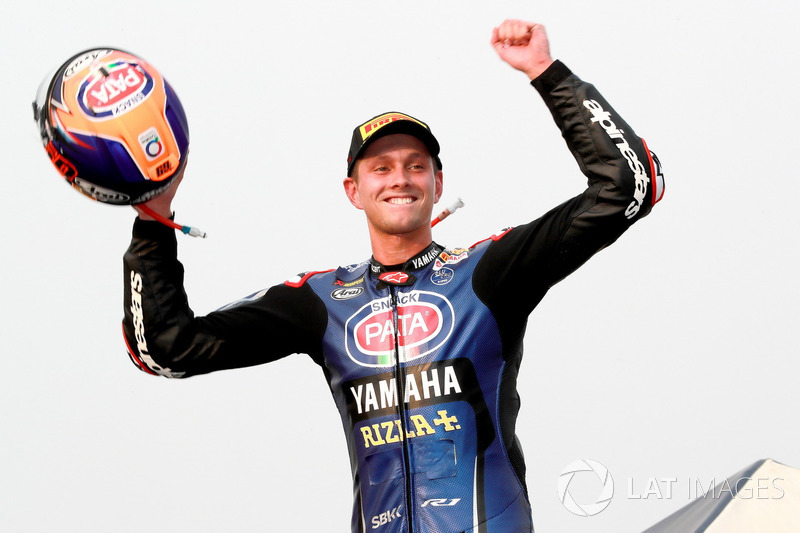 Le deuxième : Michael van der Mark, Pata Yamaha