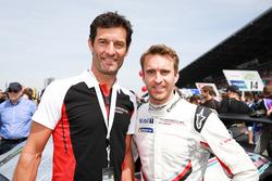 Mark Webber and Timo Bernhard, KüS Team75 Bernhard