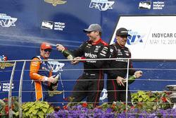 Скотт Діксон, Chip Ganassi Racing Honda, Валл Пауер, Team Penske Chevrolet, Роберт Вікенс