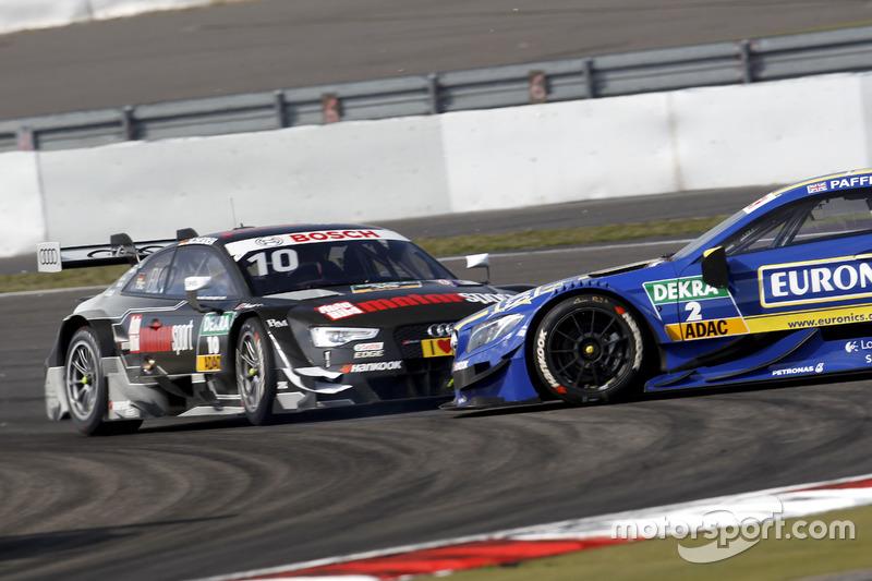 DTM Nürburgring: Kollision zwischen Timo Scheider und Gary Paffett