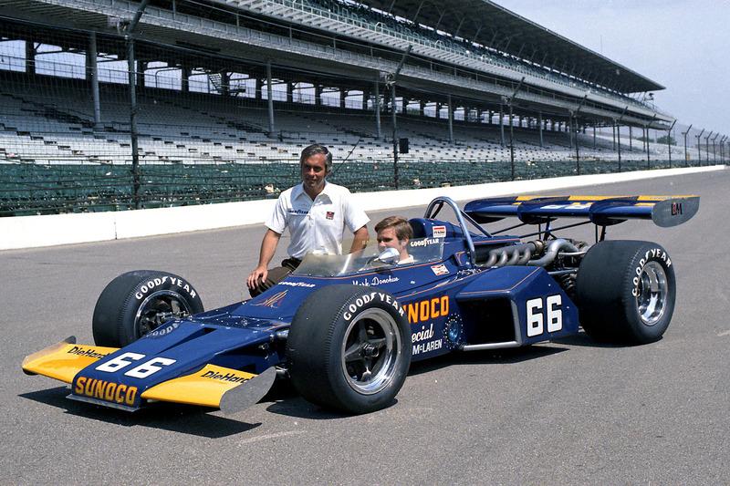 1972: Mark Donohue holt ersten Indy-Sieg für Penske