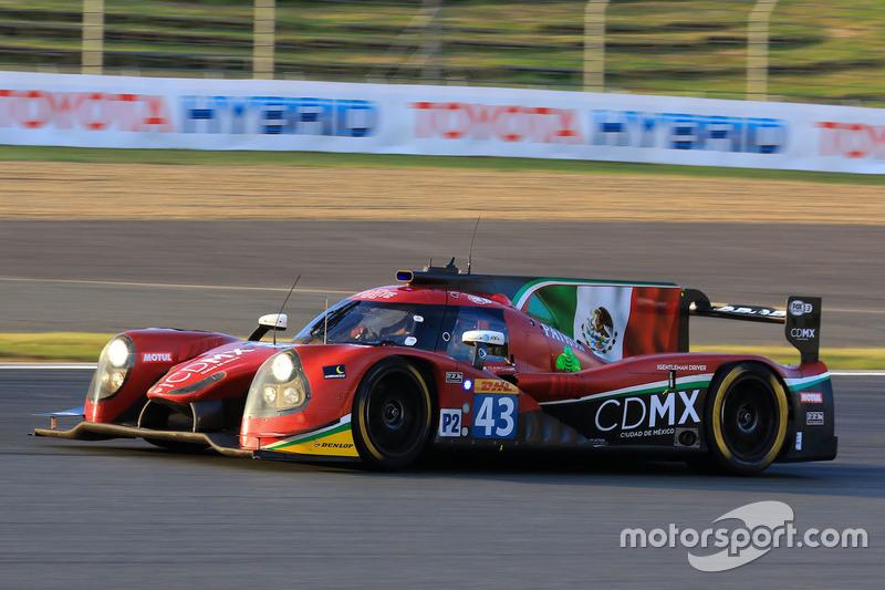 5. LMP2: #43 Ligier JSP2 - Nissan: Ricardo Gonzalez, Filipe Albuquerque, Bruno Senna