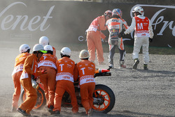Dani Pedrosa, Repsol Honda Team accidente