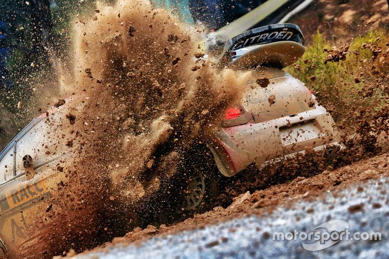Rallye de Catalogne : Kris Meeke et Paul Nagle (Citroën)