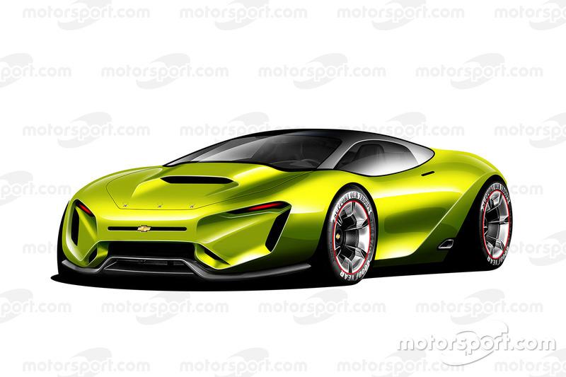 Fantasy NASCAR road car base model design of the future