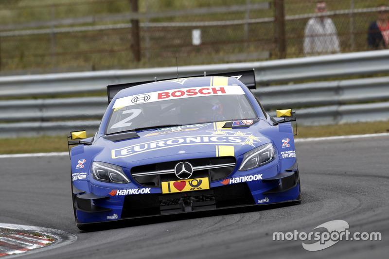 2. Gary Paffett, Mercedes-AMG Team ART, Mercedes-AMG C63 DTM