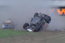 Unfall im Rahmen der Supercars (Screenshot)