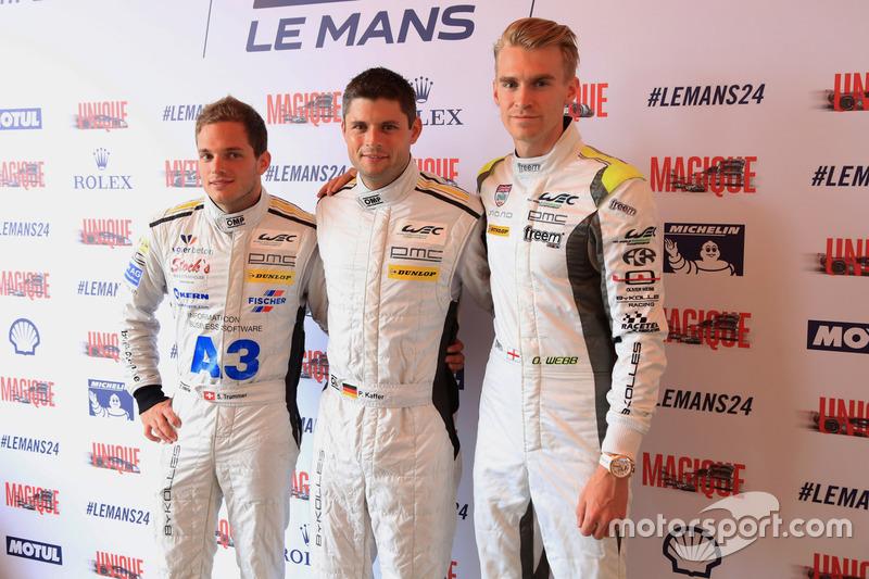 #4 ByKolles Racing CLM P1/01: Сімон Труммер, П'єрр Каффер, Олівер Вебб