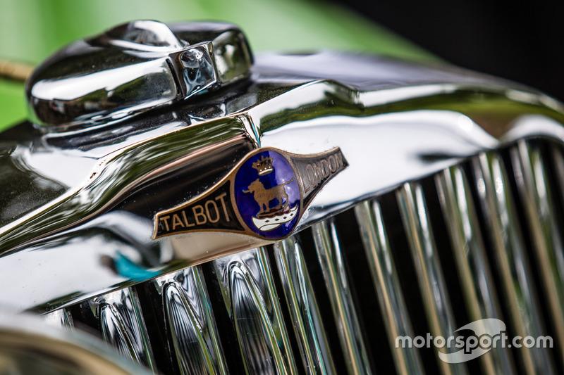 Classic Grand Tour: лого Talbot 105