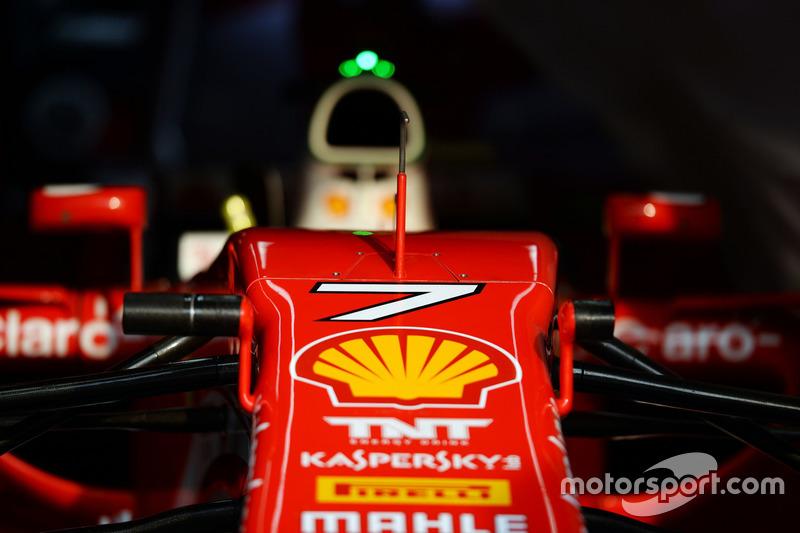 Ferrari SF16-H of Kimi Raikkonen,