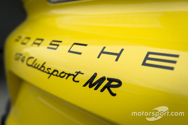Porsche Cayman GT4 Clubsport Manthey Racing