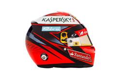 Kimi Raikkonen, Ferrari helm