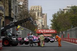 El coche de Esteban Ocon, Force India VJM11