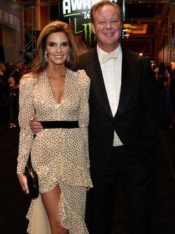 NASCAR CEO Brian France ve eşi Amy
