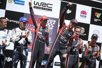 Переможці Тьєррі Ньовілль, Ніколя Жільсуль, Hyundai Motorsport, друге місце Отт Тянак, Мартін Ярвеоя, M-Sport, третє місце Хейден Паддон, Себастьян Маршалл, Hyundai Motorsport