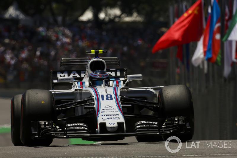 Lance Stroll, Williams FW40 (5 abandonos)