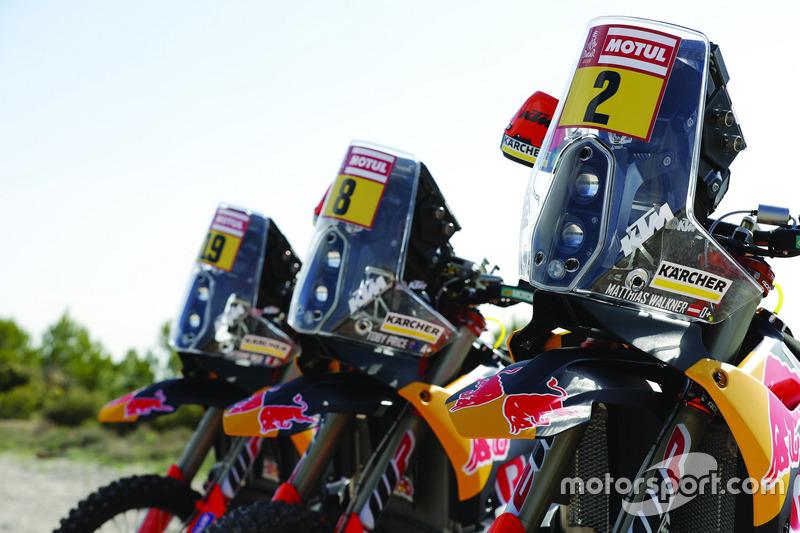 La moto de Red Bull KTM Factory Team