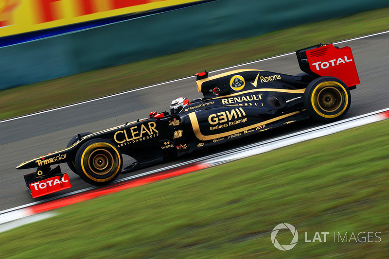 2012. Lotus E20 Renault