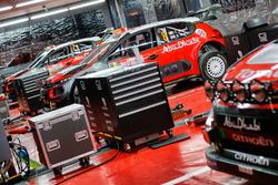 La voiture de Craig Breen, Scott Martin, Citroën C3 WRC, Citroën World Rally Team