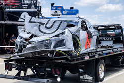 L'auto incidentata di William Byron, Hendrick Motorsports, Chevrolet Camaro