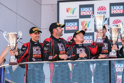 Podium Pro-AM: second place David Calvert-Jones, Patrick Long, Matt Campbell, Alex Davison, Competition Motorsports