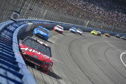 Kurt Busch, Stewart-Haas Racing, Ford Fusion Haas Automation/Monster Energy, Ryan Blaney, Team Penske, Ford Fusion PPG