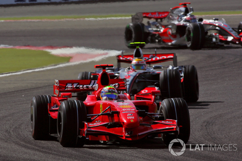 2007: Фелипе Масса, Ferrari F2007
