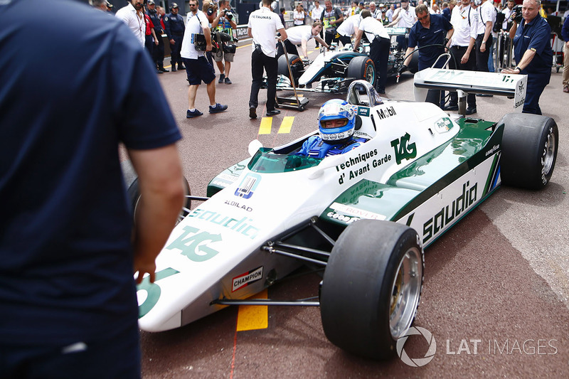 Keke Rosberg retrouve sa 1982 Williams FW08 Cosworth