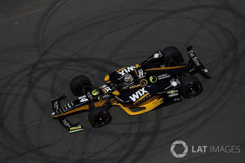 DNF: Sage Karam, Dreyer & Reinbold Racing, Chevrolet
