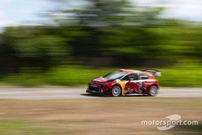 Bottas prova la Citroen WRC