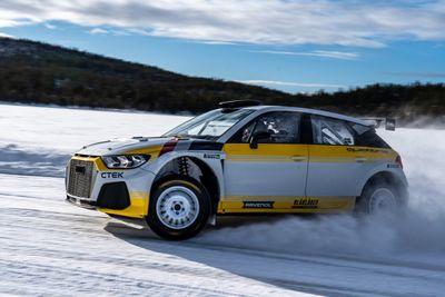 Audi A1 Quattro Rally2 unveil