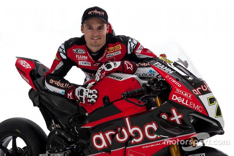 Чаз Девіс, Aruba.it Racing-Ducati SBK Team