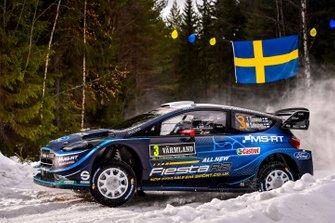 Теему Сунінен, Марко Салмінен, M-Sport Ford, Ford Fiesta WRC 2019