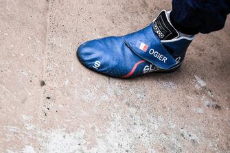 Sébastien Ogier, M-Sport Ford shoes