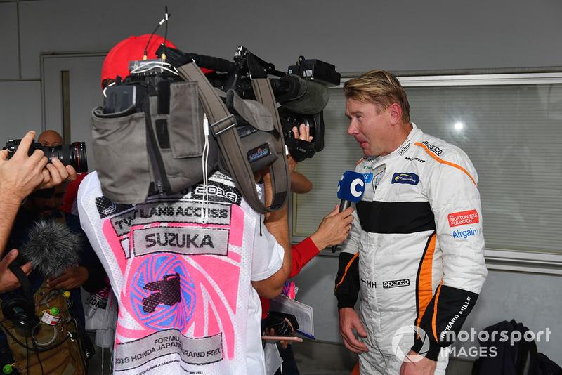 Mika Hakkinen Leyendas F1 30 Aniversario vuelta de Demostración