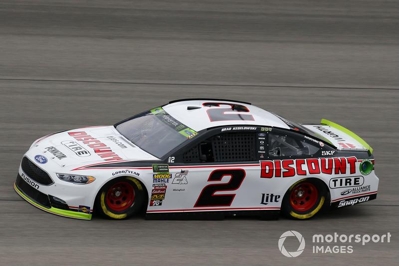 5. Brad Keselowski, Team Penske, Ford Fusion Discount Tire