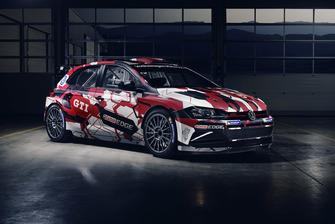 Das neueste Kundensport-Fahrzeug von Volkswagen Motorsport: der Polo GTI R5