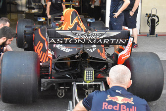 Red Bull Racing RB14, il retrotreno