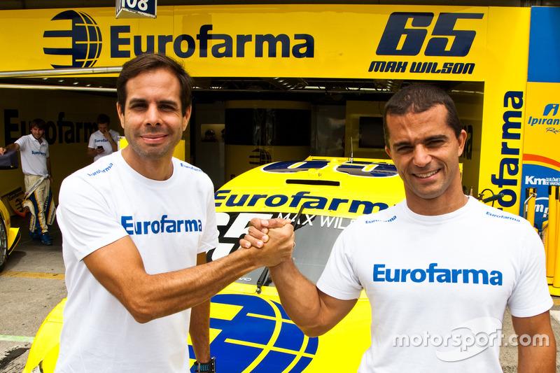 Max Wilson e Vitor Meira formam dupla em Curitiba